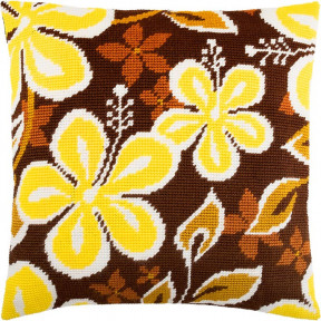 Набор для вышивки подушки Чарівниця V-229 Жёлтые цветы