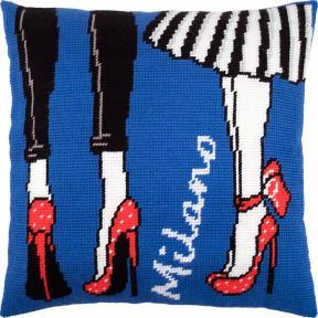 Набор для вышивки подушки Чарівниця V-236 Милан