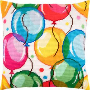Набор для вышивки подушки Чарівниця V-240 Праздник фото