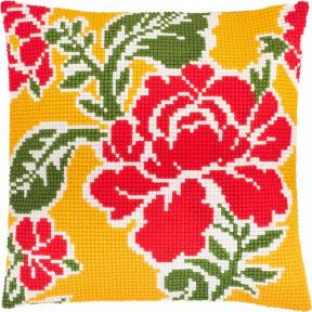 Набор для вышивки подушки Чарівниця Z-69 Поле роз