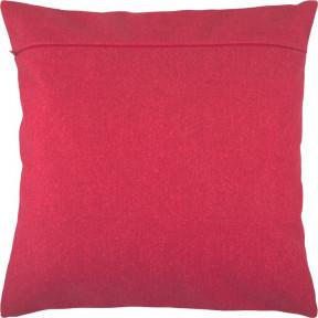 Обратная сторона наволочки для подушки Чарівниця VB-120 Красное