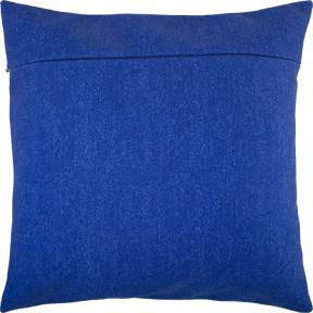 Обратная сторона наволочки для подушки Чарівниця VB-140 Синие