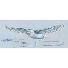 Набор для вышивки Сделай Своими Руками Полярная сова П-47 фото