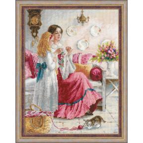 """Набор для вышивания крестом Риолис 1789 """"Первые уроки вышивки"""""""