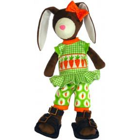 Набор для шитья мягкой игрушки ZooSapiens М3052 Зайка Поиграйка