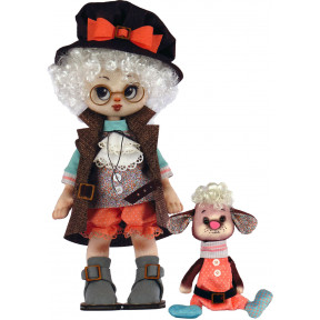 Набор для шитья куклы и мягкой игрушки ZooSapiens К1076 Мальчик с овечкой