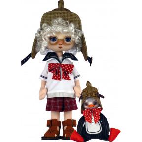 Набор для шитья куклы и мягкой игрушки ZooSapiens К1078 Мальчик с пингвином