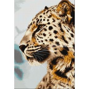 Набор для вышивки крестом Luca-S BU4006 Леопард фото