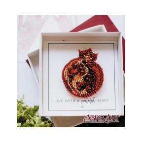 Набор для вышивки бисером украшения на натуральном художественном холсте AD-027
