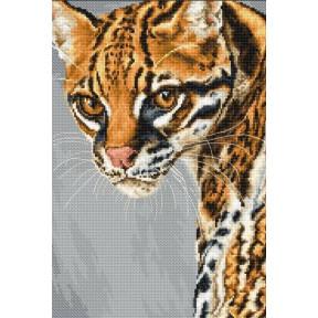Набор для вышивки крестом Luca-S BU4006 Леопард