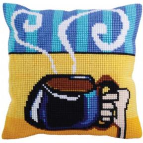 Подушка для вышивания крестом Collection D'Art 5281