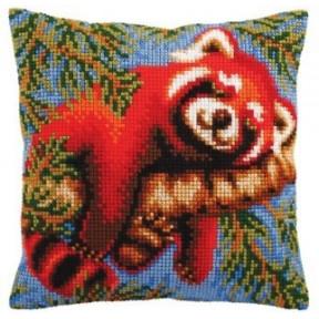 """Подушка для вышивания крестом Collection D'Art 5105 """"Cardinal Rose"""""""
