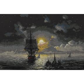 """Набор для вышивки крестом Panna ГТГ-7119 """"Лунная ночь на Капри"""""""