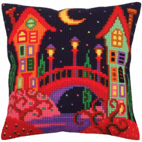 Подушка для вышивания крестом Collection D'Art 5257