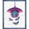 Набор для вышивки крестом Овен 1165 Загадочный свет - 2 фото