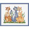 Набор для вышивки крестом Овен 632 Весенняя песня фото
