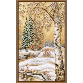 Набор для вышивки крестом Овен 878 Русская зима-2 фото