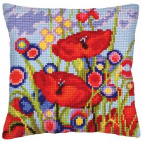Подушка для вышивания крестом Collection D'Art 5233 фото