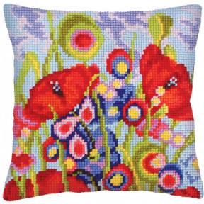 Подушка для вышивания крестом Collection D'Art 5233