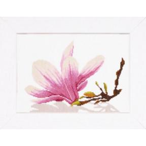 Набор для вышивания PN-0008304 Magnolia Twig with Flower