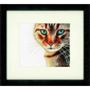 """Набор для вышивания Lanarte PN-0021220 Cat Close-up """"Кот"""