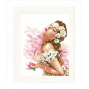 Набор для вышивания Lanarte PN-0144562 Lady of the Camellias
