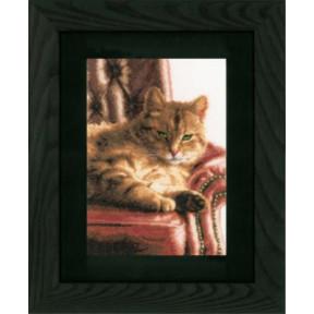 Набор для вышивания Lanarte PN-0146177 Relaxed Tabby