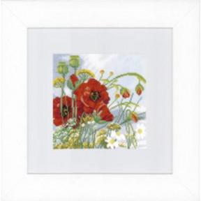 """Набор для вышивания Lanarte PN-0144562 Lady of the Camellias """"Дама с камелиями"""""""