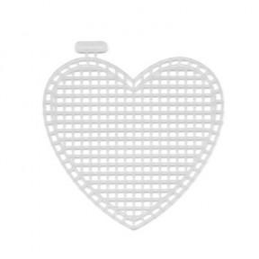 Канва пластиковая Гамма KPL-04 сердце