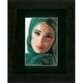Набор для вышивания Lanarte PN-0149291 Цветочное лицо