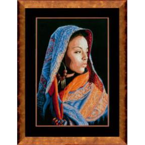 """Набор для вышивания Lanarte PN-0149998 African Lady """"Африканка"""""""