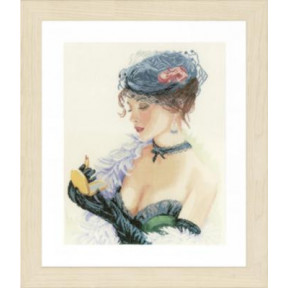Набор для вышивания Lanarte PN-0154332 Lady with a Lipstick