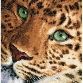 """Набор для вышивания Lanarte PN-0154944 Leopard """"Леопард"""""""