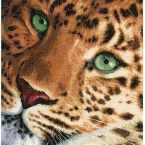 """Набор для вышивания Lanarte PN-0154944 Leopard """"Леопард"""" фото"""