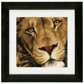 Набор для вышивания Lanarte PN-0154980 Царь зверей фото