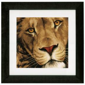 """Набор для вышивания Lanarte PN-0154979 King of Animals """"Царь"""