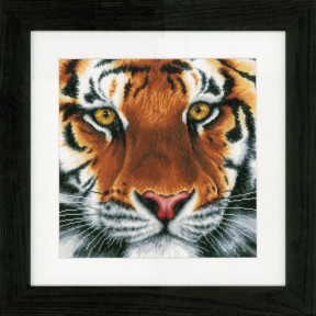 """Набор для вышивания Lanarte PN-0156010 Tiger """"Тигр"""" фото"""