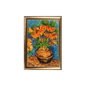 Набор для вышивания бисером Butterfly 170 Цветы в медной вазе