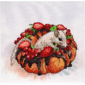 Набор для вышивки крестом Alisena 5124 Вкусное пирожное