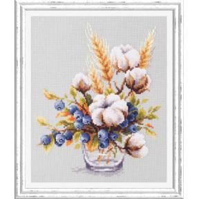 Набор для вышивки крестом Чудесная игла 100-013 Хлопок и