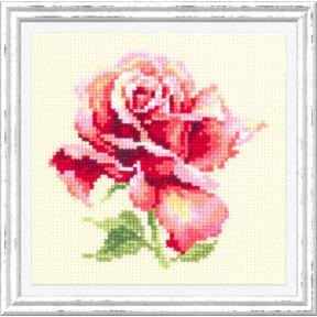 Набор для вышивки крестом Чудесная игла 150-001 Прекрасная роза