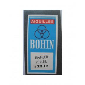Набор бисерных игл Beading №12 (25шт) Bohin (Франция) 10124 фото