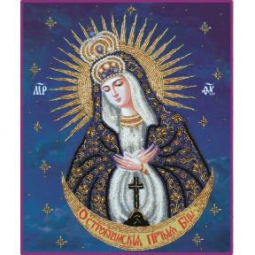 Набор для вышивания бисером Изящное Рукоделие БП-129 Богородица