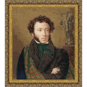 Набор для вышивки Золотое Руно Портрет поэта А.С. Пушкина 1827