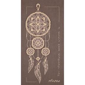 """Набор для вышивки крестом Panna """"Ангел снов"""" СО-7074 фото"""