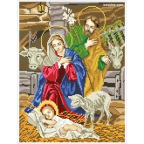 Набор для вышивания бисером БС Солес Рождество Христово РХ фото