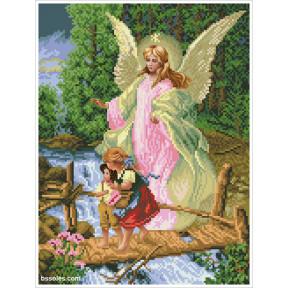 Набор для вышивания бисером БС Солес Ангел Хранитель (мал) АХМ