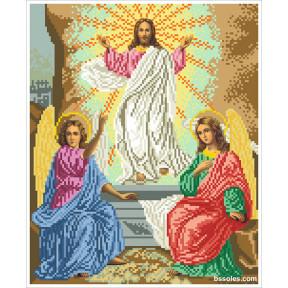 Набор для вышивания бисером БС Воскресение Господне ВГ фото