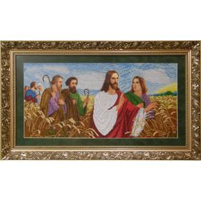 """Набор для вышивания бисером БС Солес """"Иисус с апостолами в поле"""" ІАП"""