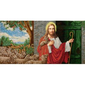 Набор для вышивания бисером БС Солес Иисус стучит в дверь ІСД